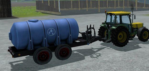 איפה אתם ממלאים את סימולטור חקלאות מיכל מים ניידים 2013