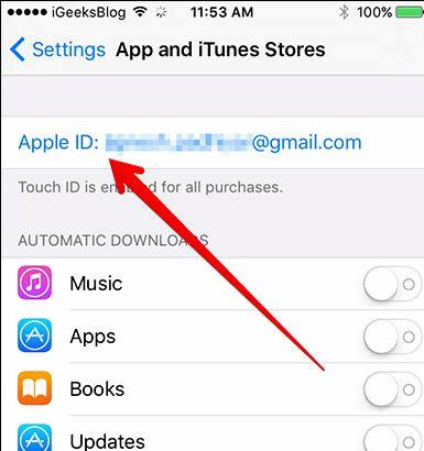 endre apple passord