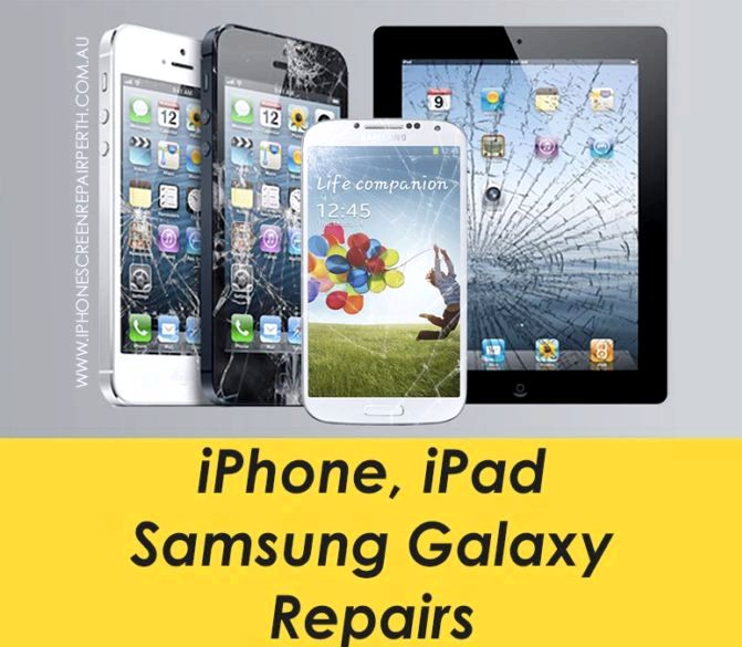 Hvor å få iPhone 5 skjermen fast perth