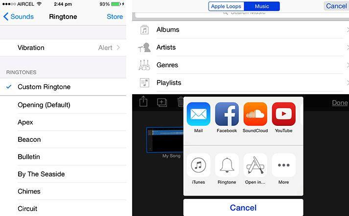 Hvar á að fá tónlist hringitóna fyrir iPhone 5
